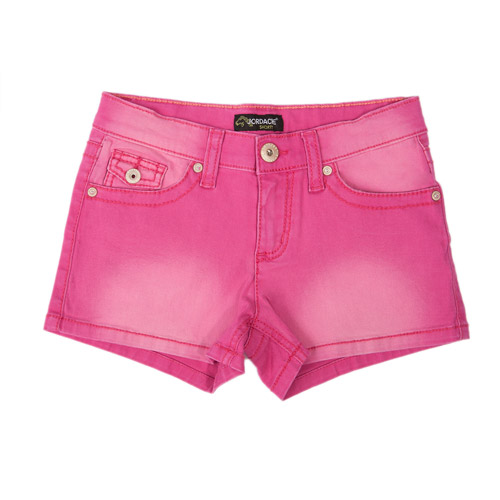 Jordache Girls' Solid Colored Shorts