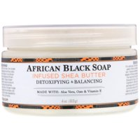 Shea Butter, African Black Soap Infused, 4 oz (113 g)