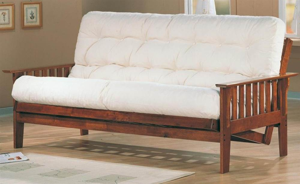 Casual Wooden Futon Frame by Coaster Co. of America