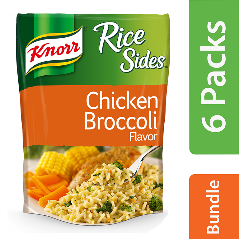 Knorr Chicken Broccoli Rice Side Dish 5.5 oz (6 Packs)