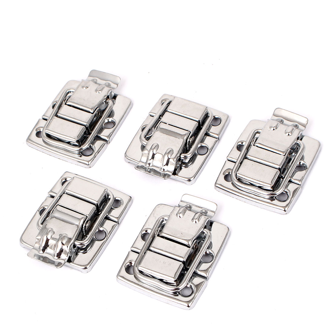 Suitcase Case Chest Box Toggle Latch Catch Hasp 40mm x 30mm 5 Pcs