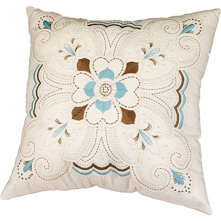 Kaleidoscope Pillow Candlewicking Embroidery Kit, 14