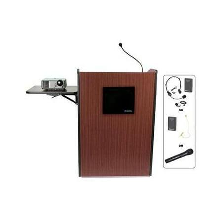 Amplivox Wireless Multimedia Presentation Podium Aplsw3235wt picture