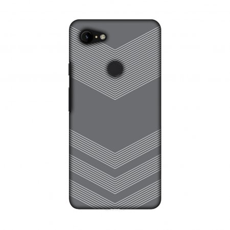 outlet store fc630 97f92 Google Pixel 3 XL Case, Amzer Ultra Thin Designer Hard Shell Case Back  Cover for Google Pixel 3 XL [6.3 Inch, 2018 Release] - Carbon Fibre Stone  Gray ...