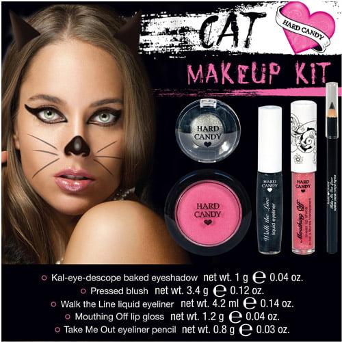 Hard Candy Cat Halloween Makeup Kit, 1ct