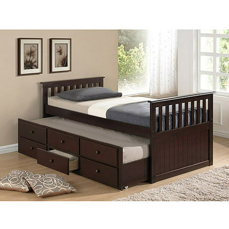 Broyhill kids marco island captain 39 s bed with trundle bed for Beds with trundle