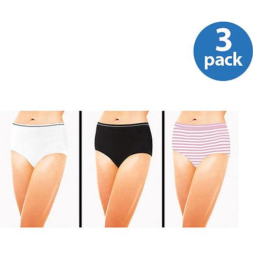 Best Fitting - Seamless Brief Panties, 3-Pack
