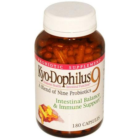 Kyolic / Wakunaga Kyo Dophilus 9 Capsules probiotiques, 180 CT