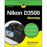 Nikon D3500 for Dummies (Paperback)