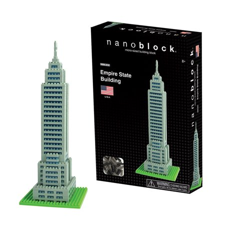 Tall Empire State Building (Nanoblock Empire State Building 3D)