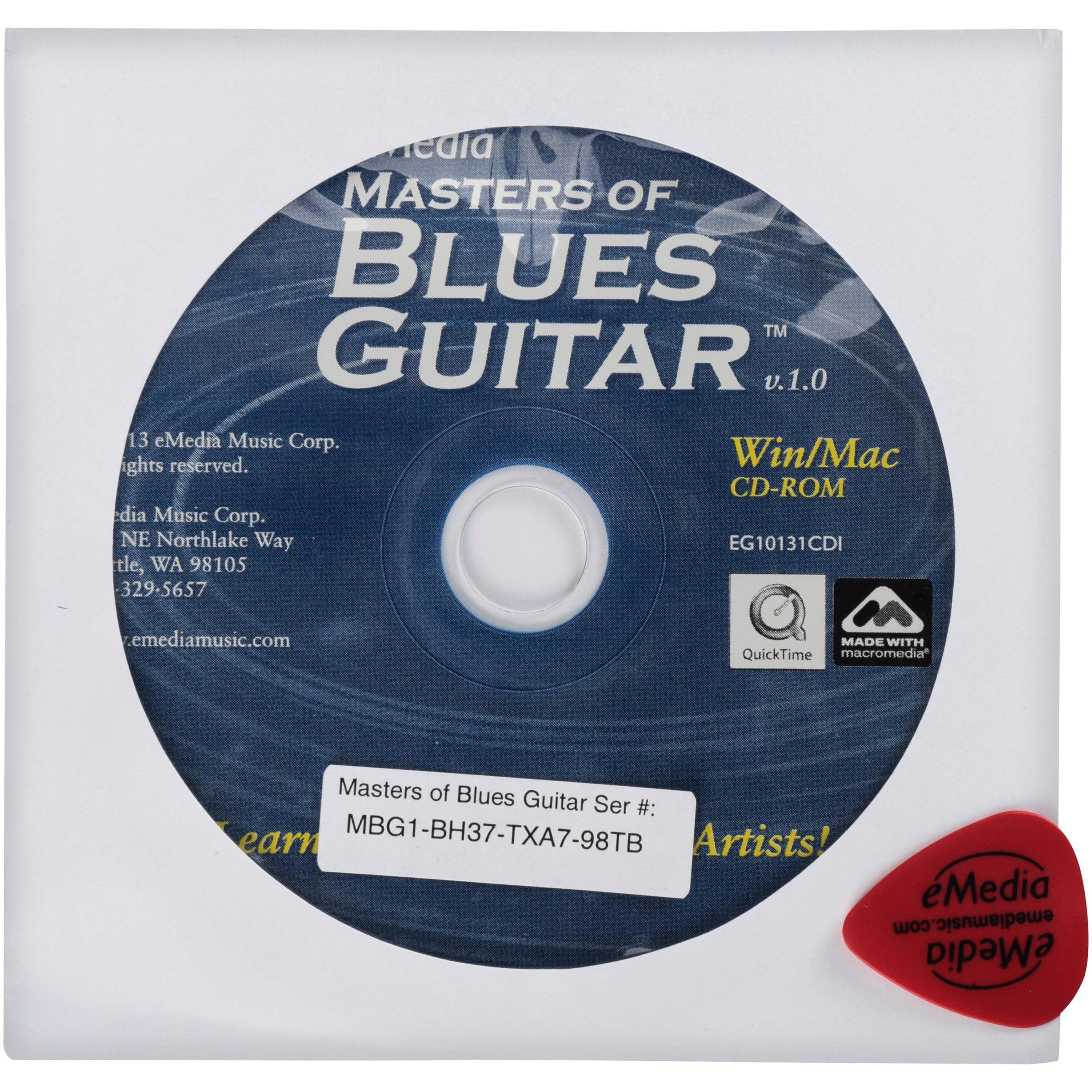 eMedia Masters of Blues Guitar Win Mac Interactive Software by eMedia Music Corp.