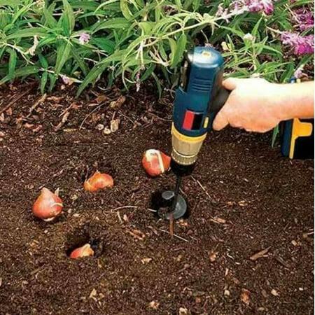 New Hotsales Planter Garden Auger Hole Digger Drill Bit Attachment 46*370 (Hole Digger Attachment)