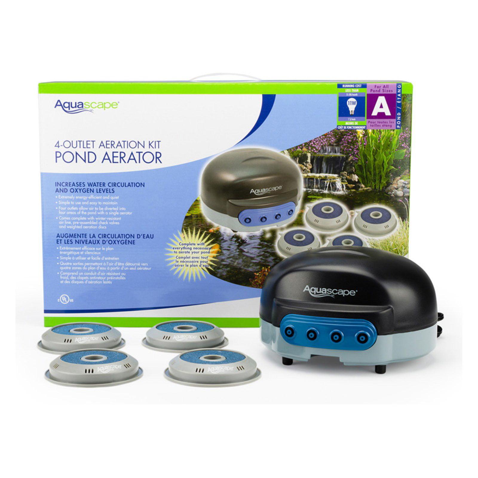Aquascape 2 Outlet Pond Aerator Walmart Com