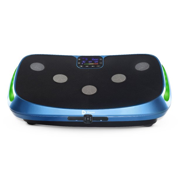LifePro Rumblex 4D Vibration Plate Exercise Machine - Whole Body Viberation Machine for Home, Weight Loss & Shaping (Blue)