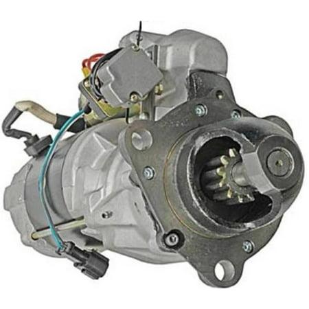 New 24V 12T Cw 11Kw Starter Motor Fits Komatsu Crawler D60p D60s D65 D65a D75s