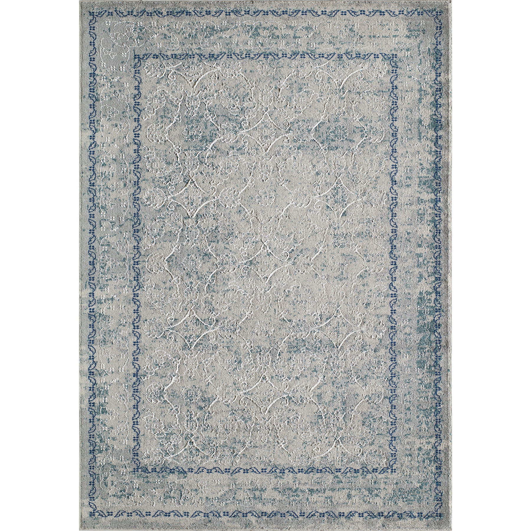 Momeni Anglesey Blue Rug (2' x 3') by Overstock