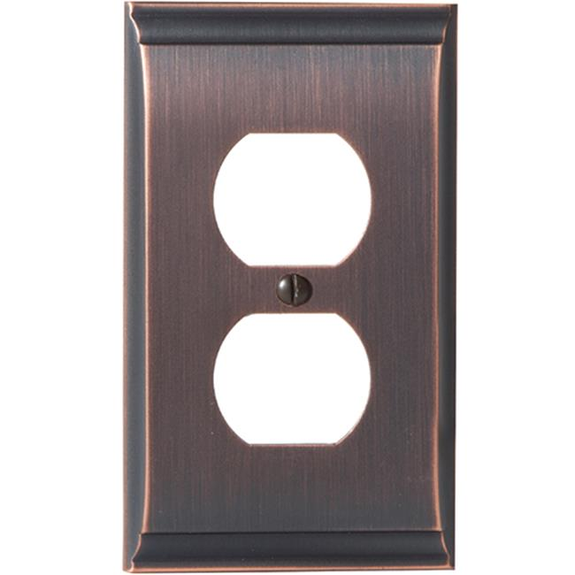 Amerock A36508 ORB 2 Plug Candler Wall Plate, Oil Rubbed Bronze - image 1 of 1