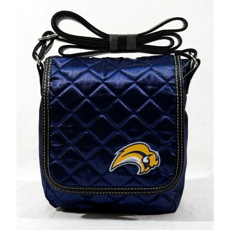 Buffalo Sabres NHL Licensed Quilted Purse Handbag
