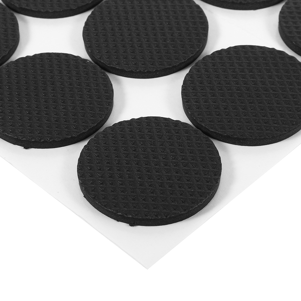 Anauto Black Self Adhesive Floor Protectors Furniture Sofa