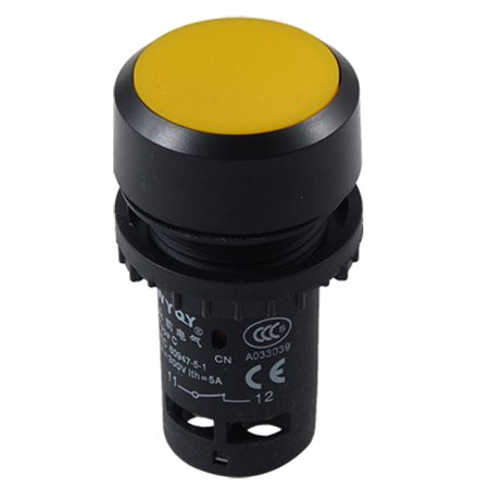 Circuit Control NO NC Momentary Type Push Button Switch Twwne ()