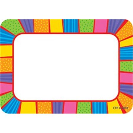 Creative Teaching Press CTP4512 Playful Patterns Name Tags - Company Name Tags