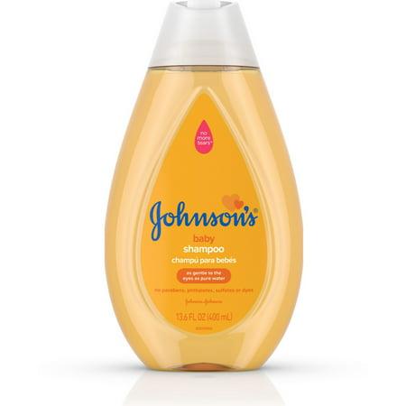 2 Pack - JOHNSON'S Tear Free Baby Shampoo, Free of Parabens, Phthalates, Sulfates and Dyes 13.6 oz Rainwater Baby Shampoo