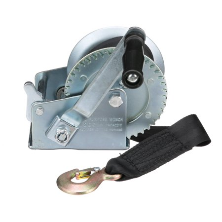 Seachoice Manual Trailer Winch - 1200 LB