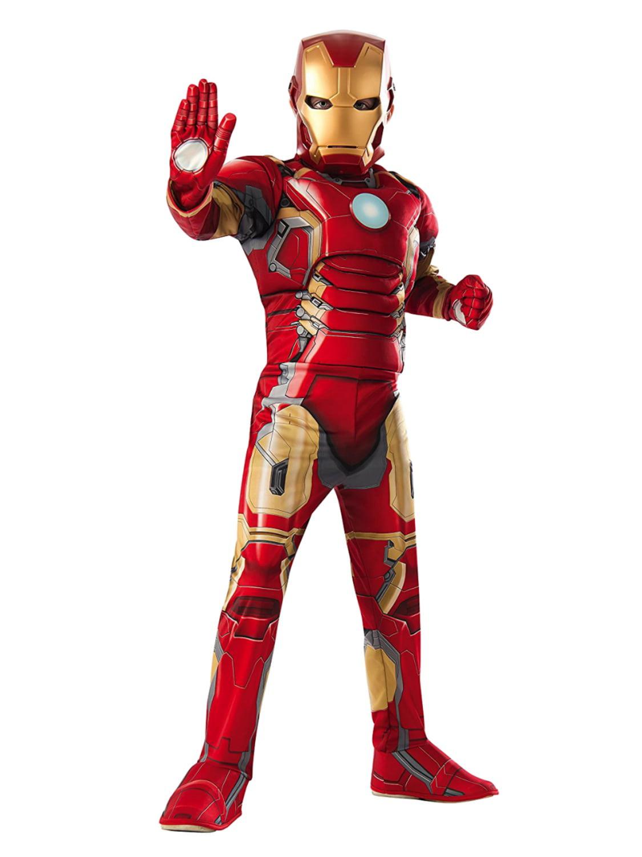 Halloween Costume Boy Toddlers Super Hero Iron Man 2T New