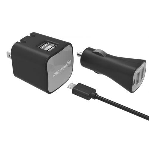 2.4 AMP INSTASENSE MICRO WALL&CAR KIT - image 1 of 1