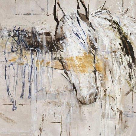 Palomino Twist Horse Animal Art Print Wall Art By Jodi Maas