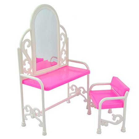 Generic Fashion Dressing Table And Chair Set For s Dolls Bedroom Furniture