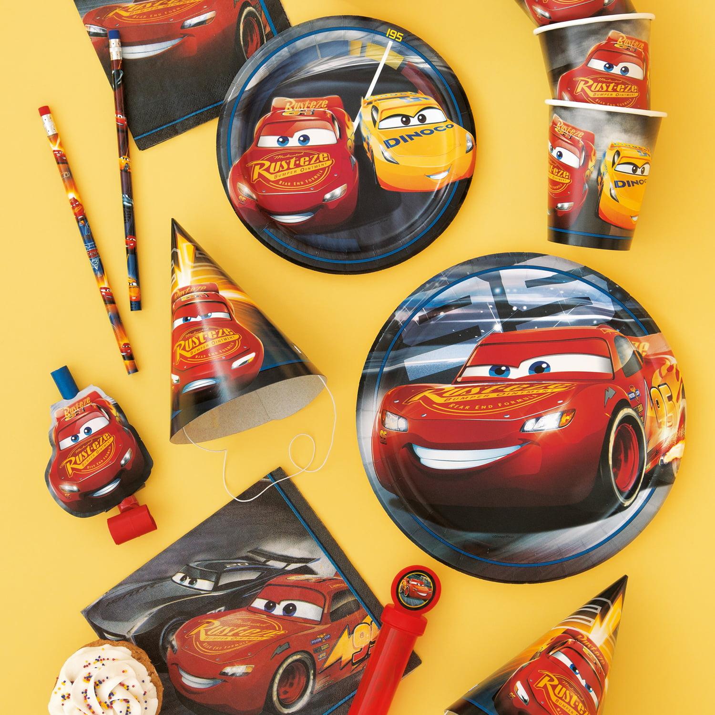 Disney Cars Pinata, Pull String, 21 x 10 in, 1ct - Walmart.com