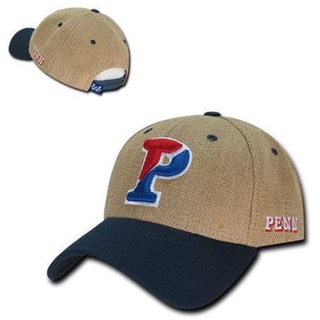 University of Pennsylvania Penn Quakers Structured Jute Baseball Ball Cap Hat](Quaker Hats)