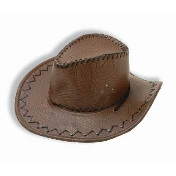 Forum Leather (HAT-BROWN LEATHER COWBOY )