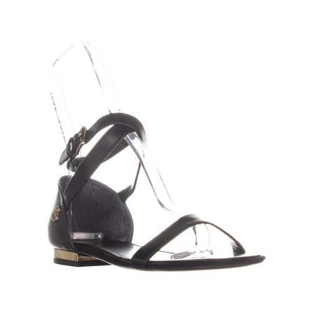 6d42ae568216 Womens Lauren Ralph Lauren Davison Ankle Strap Flat Sandals