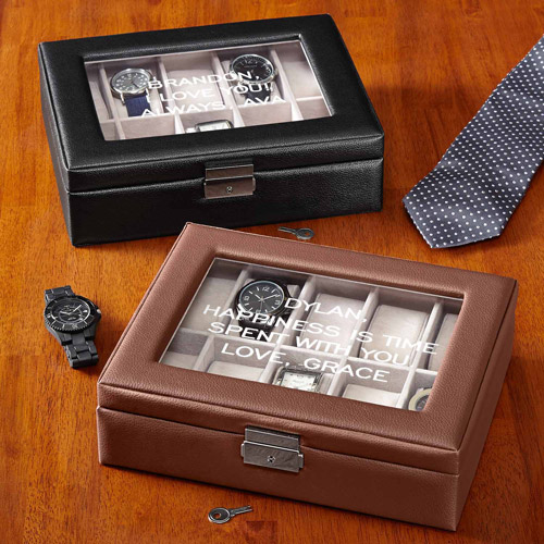 Personalized Timeless Treasure Watch Box