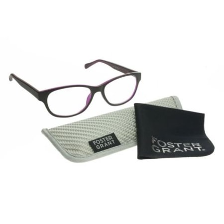 8e26e9f5e6 Foster Grant Zera Multifocus Progressive Cat Eye Womens Reading Glasses  +1.00 strength - Walmart.com