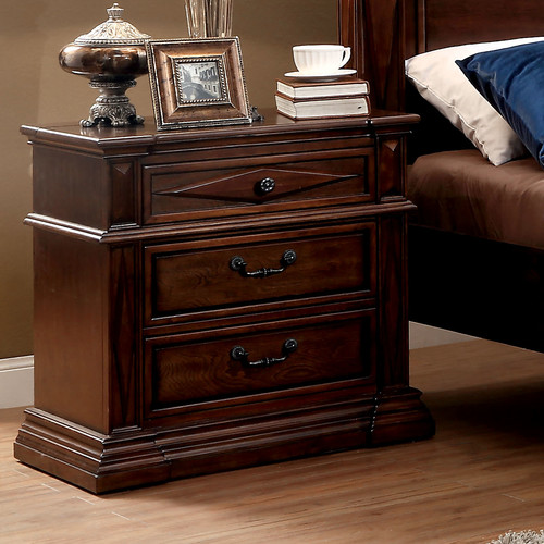 Hokku Designs Donda 3 Drawer Nightstand