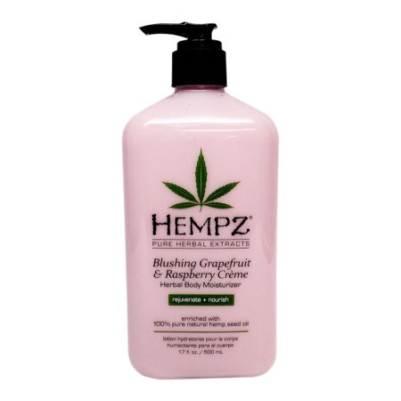 HEMPZ Pure Herbal Extracts - Blushing Grapefruit & Raspberry Crème - 17z
