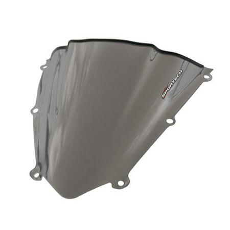Sportech - 45501178 - V-Flow Tint Series Windscreen, Smoke