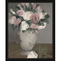 PTM Images,Vase Of White Flowers