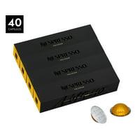 Nespresso Vertuo Espresso Capsules, Voltesso - 40 Count