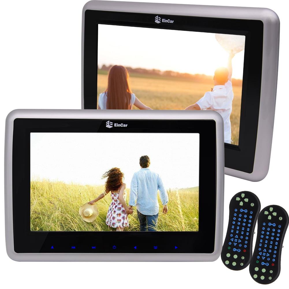 (2pcs per Set) 9inch TFT LCD Monitor Car DVD Player, 16:9...