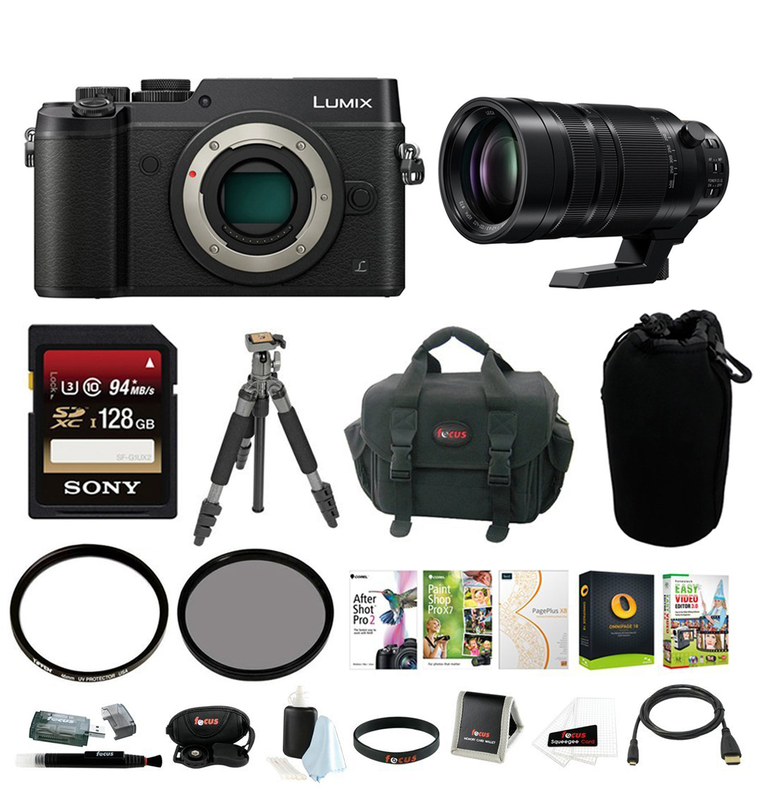 Panasonic Leica DG POWER O.I.S. Lens with Lumix Digital C...