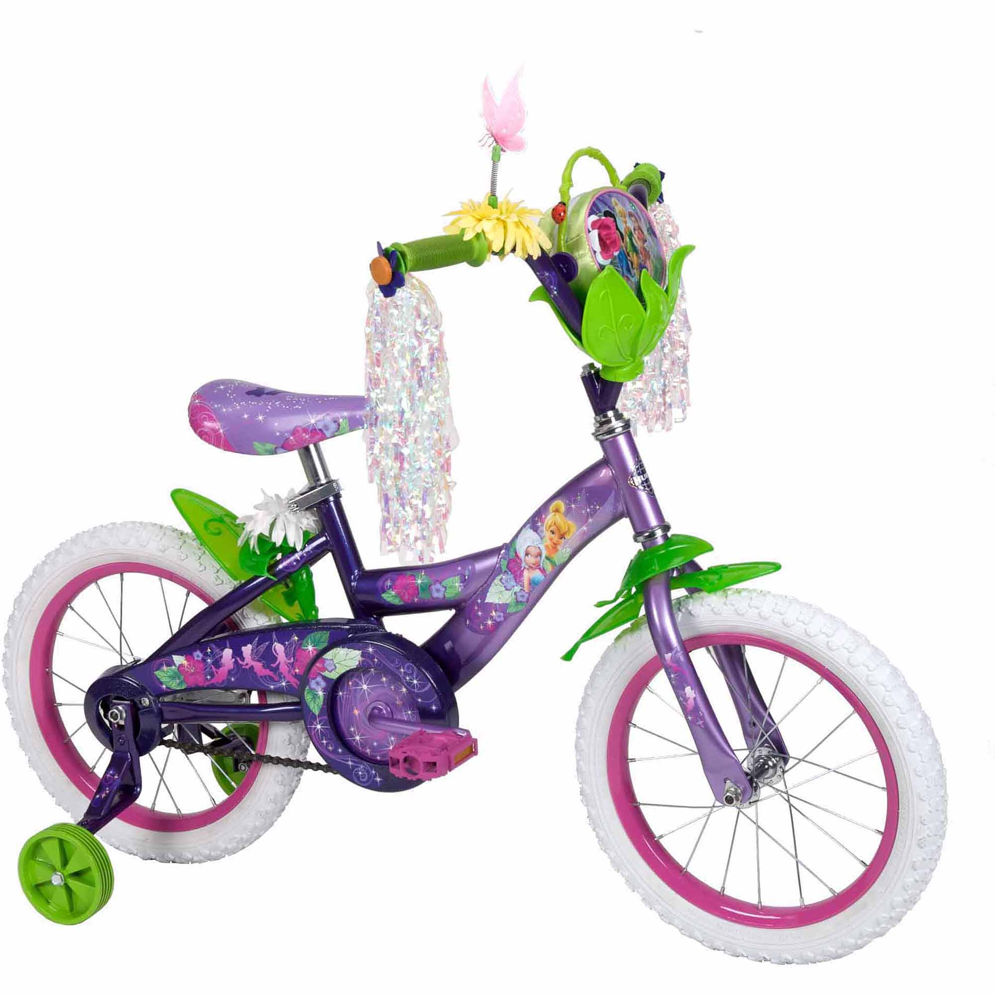 "16"" Huffy Disney Fairies Girls' Bike with Gift Box"