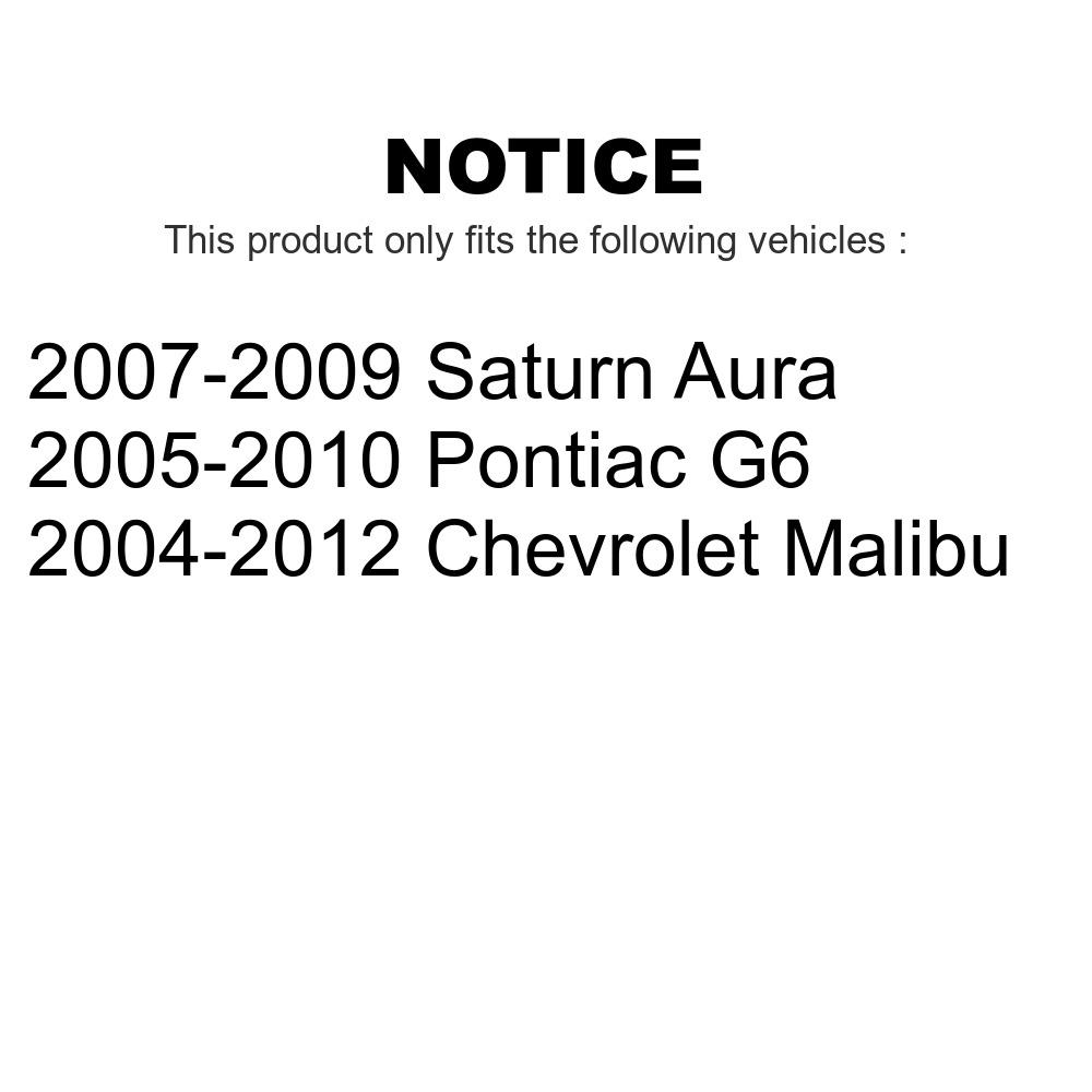 Front Outer Steering Tie Rod End TOR-ES800086 For Chevrolet Malibu Pontiac G6 Saturn Aura