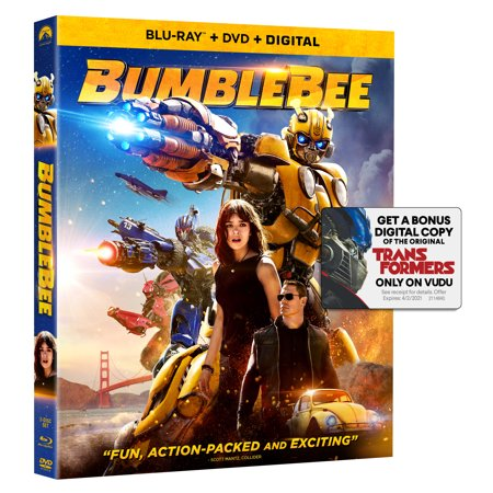 Bumblebee (Blu-ray + DVD)](best black friday blu ray deals)