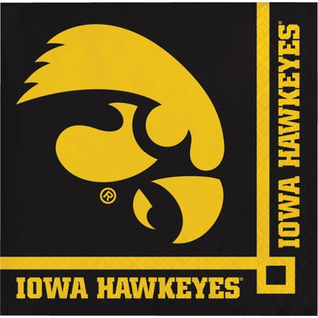 University Of Iowa Party (University of Iowa Beverage Napkins,)