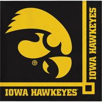 University of Iowa Beverage Napkins, 20pk