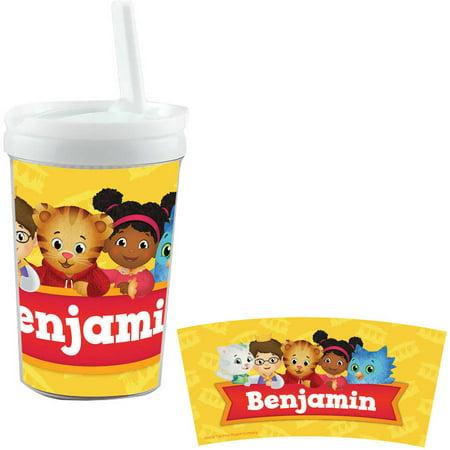 Personalized Daniel Tiger's Neighborhood Daniel And Friends Sippy Cup (Personalized Sippy Cup)